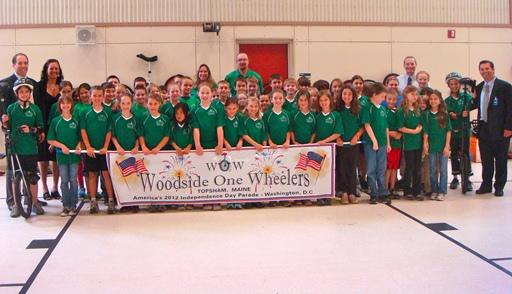 Woodside One Wheelershonored