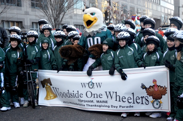 2013 thanksgiving day parade in Phili