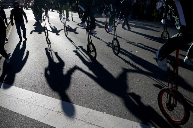 parade shadow shot